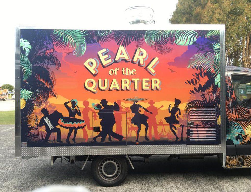 food truck of pearl of the quarter australia