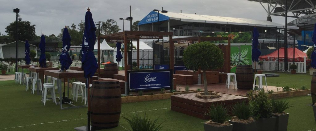 Coopers Fan Zone Bar and Beer Garden Byron Bay 7s