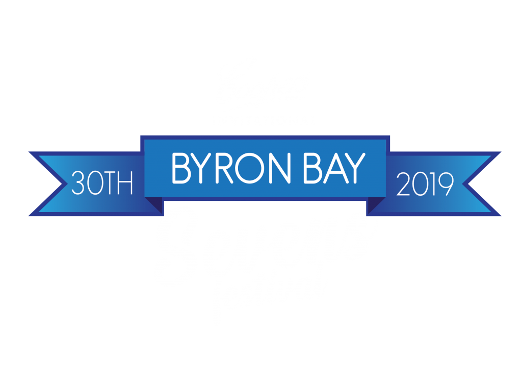 2019 Byron Bay 7s logo white